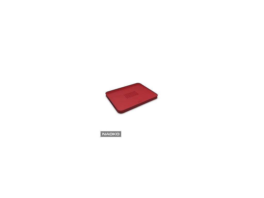 Multifunkčná doska na krájanie JOSEPH JOSEPH Cut & Carve ™ Plus, veľká /červená