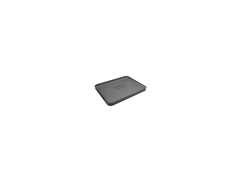 Multifunkčná doska na krájanie JOSEPH JOSEPH Cut & Carve ™ Plus, veľká / šedá