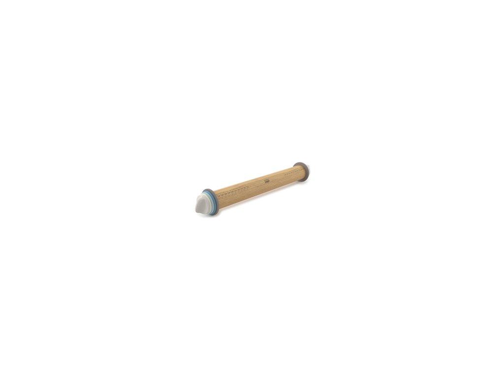 Nastaviteľný valček JOSEPH JOSEPH Adjustable Rolling Pin, farebné krúžky