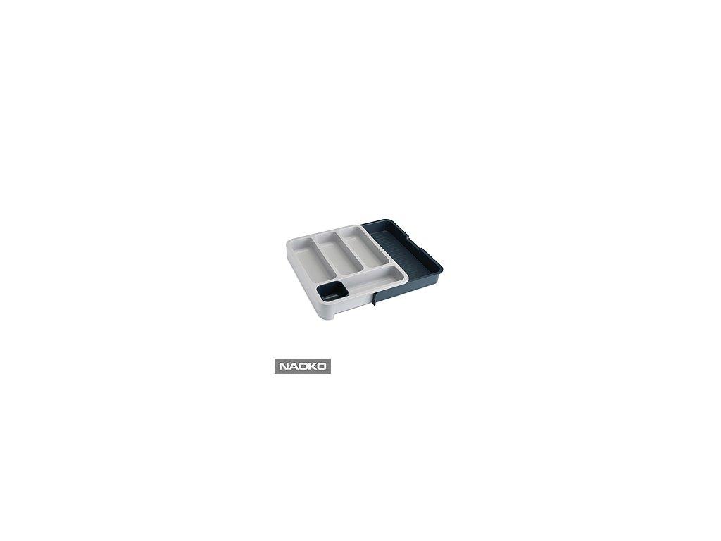 Priehradky na príbory JOSEPH JOSEPH DrawerStore ™, šedé