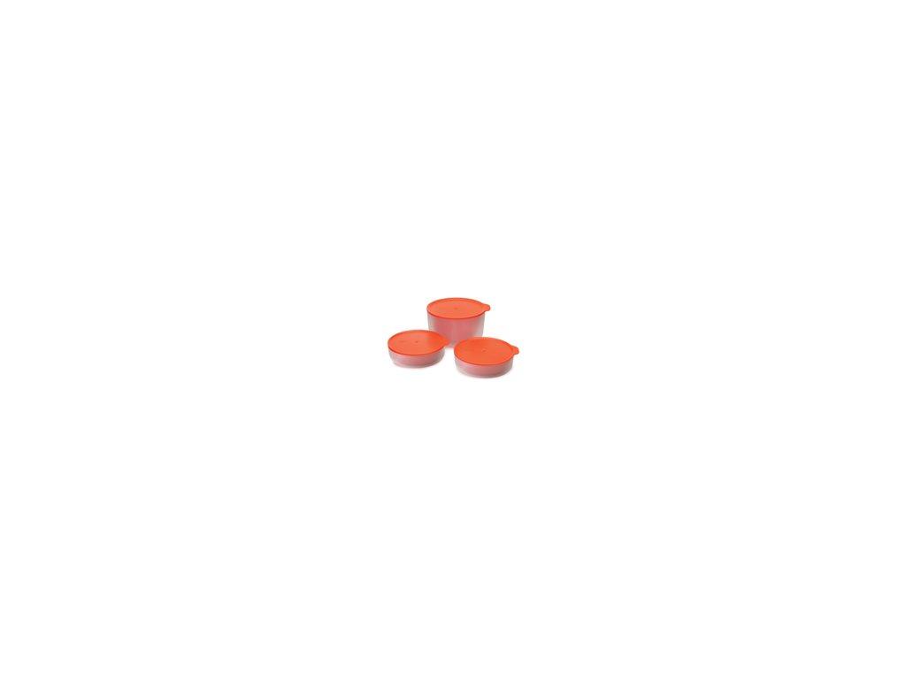 Sada - dvojstenné misy JOSEPH JOSEPH M-Cuisine ™ Cool-touch Microwave Cookware, 3ks