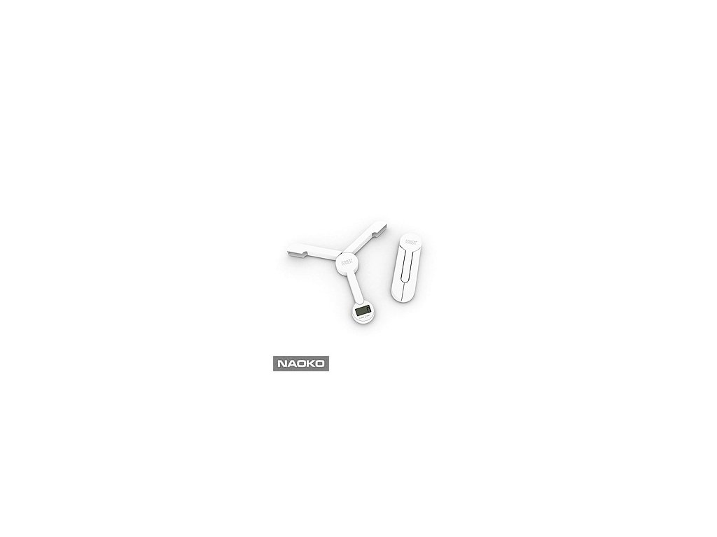 Skladacia digitálna kuchynská váha JOSEPH JOSEPH TriScale ™, biela