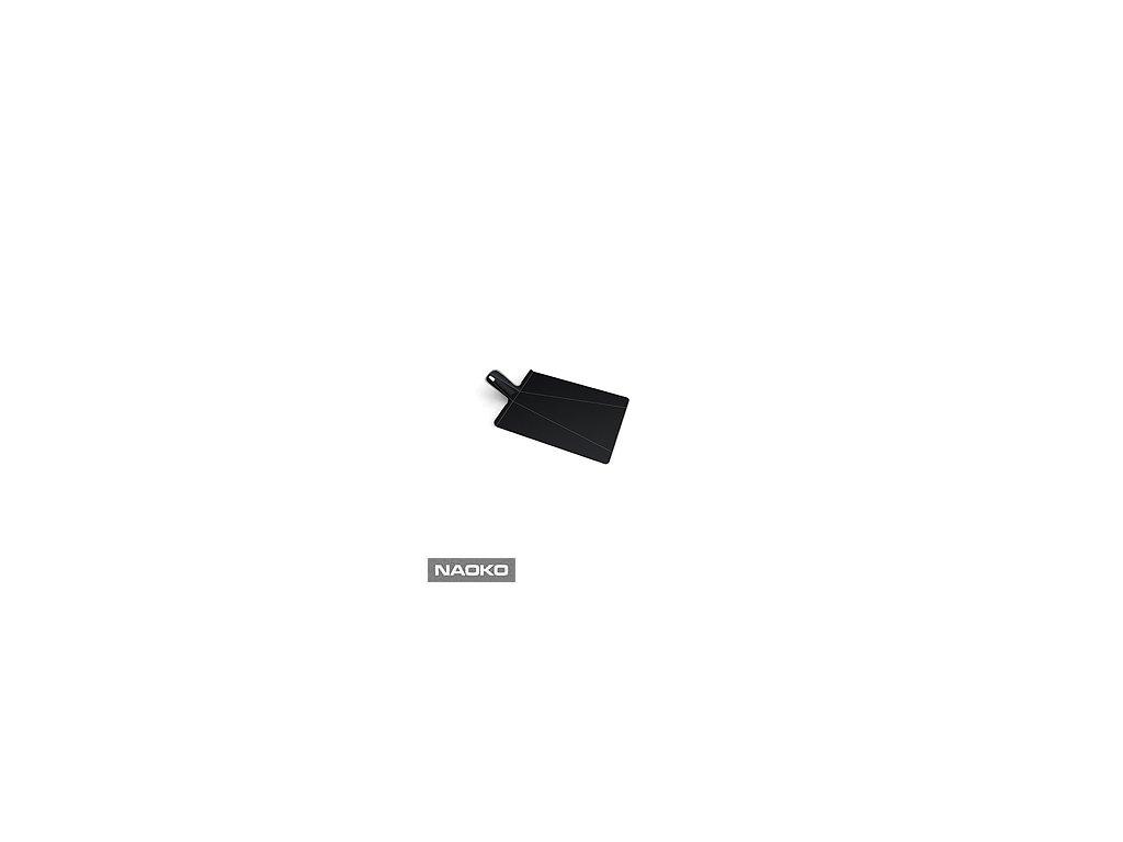Skladacia doska na krájanie JOSEPH JOSEPH Chop2Pot ™ Plus, veľká / čierna