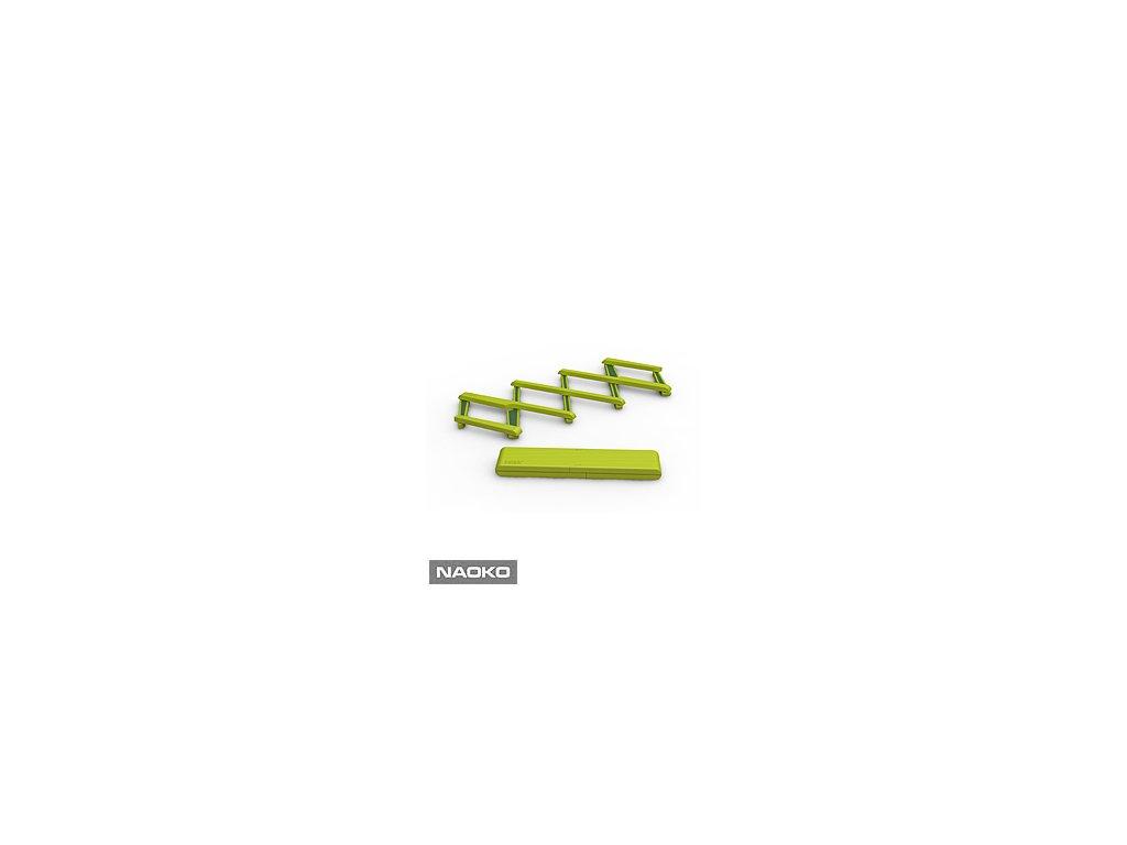Skladacia podložka pod horúci riad JOSEPH JOSEPH Stretch ™, zelená