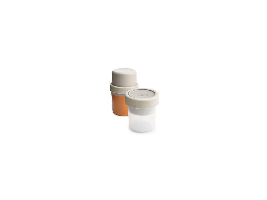 Soup pot JOSEPH JOSEPH GoEat ™, 300/600 ml, sivý