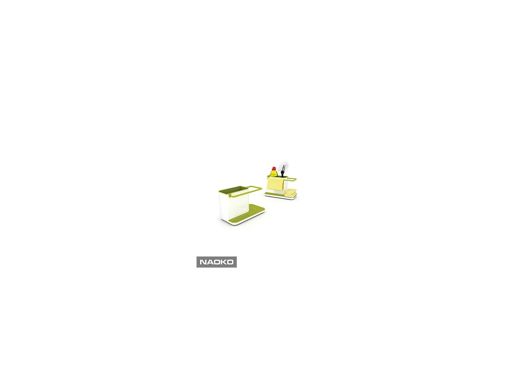Stojanček na umývacie prostriedky JOSEPH JOSEPH Caddy ™ Sink Tidy, biely / zelený