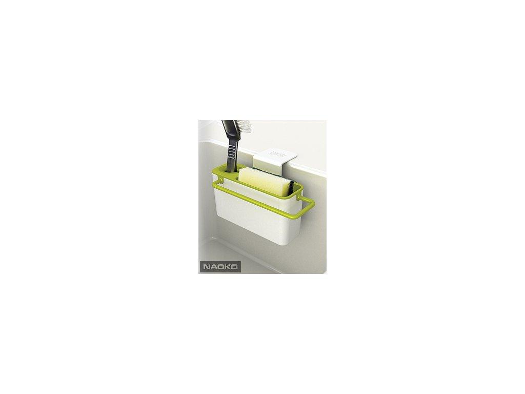 Stojanček na umývacie prostriedky JOSEPH JOSEPH Sink Aid ™, biely / zelený