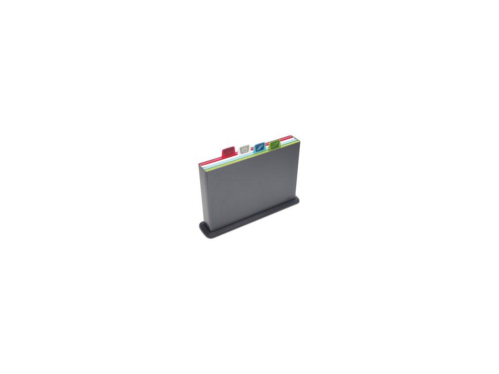 Stojan s doskami (30x20cm) JOSEPH JOSEPH Index ™, grafitový stojan