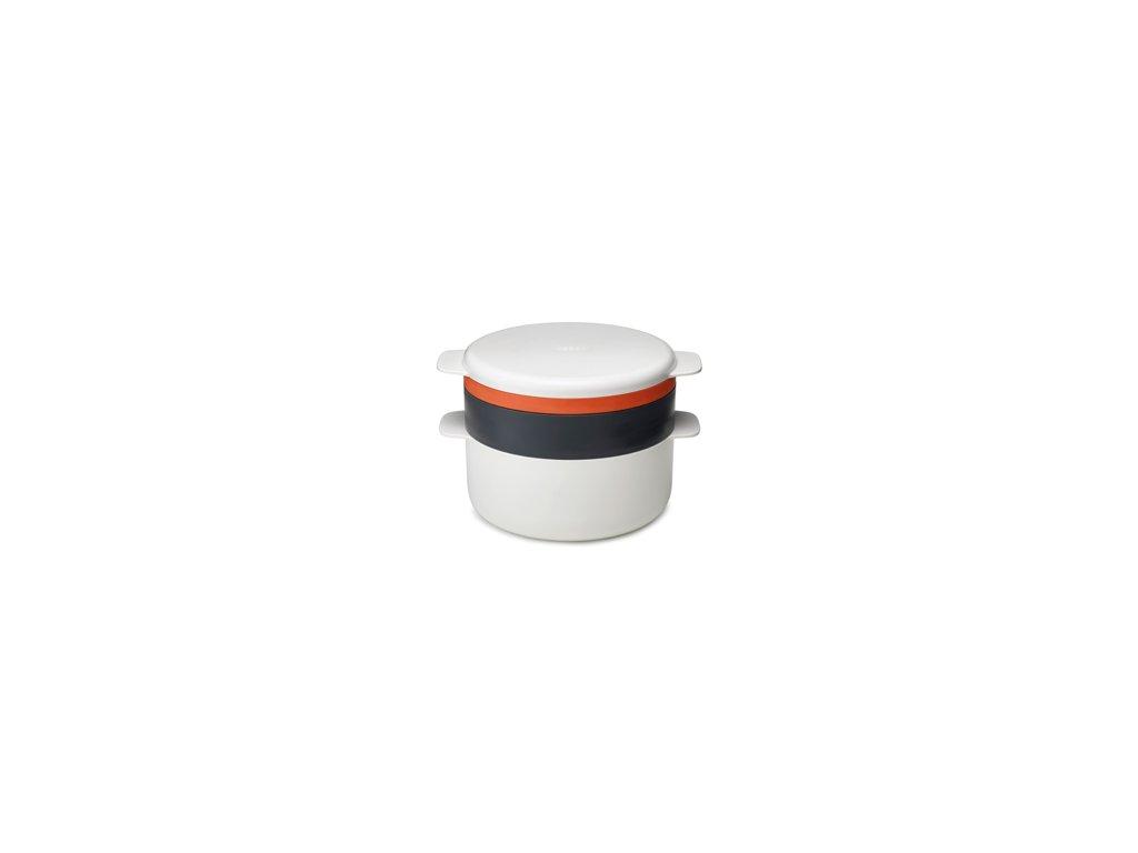 4-dielna sada riadu JOSEPH JOSEPH M-Cuisine ™ Microwave Stackable Set