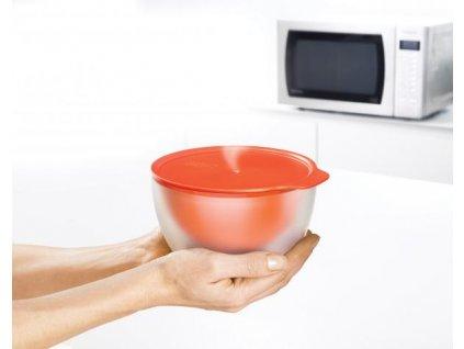 Dvojstenná misa  JOSEPH JOSEPH M-Cuisine™ Cool-touch Microwave Bowl, 16,5cm